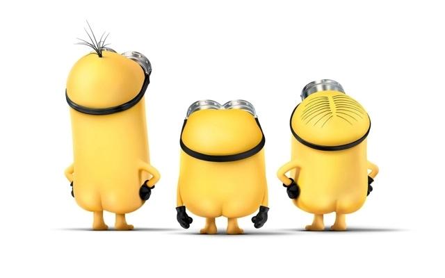 小黄人图片大全可爱 经典可爱小黄人高清电脑壁纸