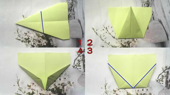 折飞机飞得远折法图片 手工折纸: 教大家一款飞的好远的纸飞机, 飞机的折法教程图解!