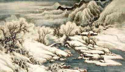 有什么关于冬天的古诗?