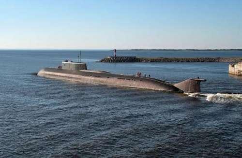 美舰再也不能横行海上 俄罗斯核潜艇太大