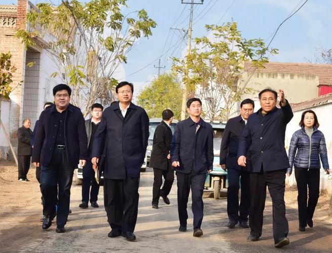 肥乡区委书记赵洪山调研冬季清洁取暖和重点项目建设工作