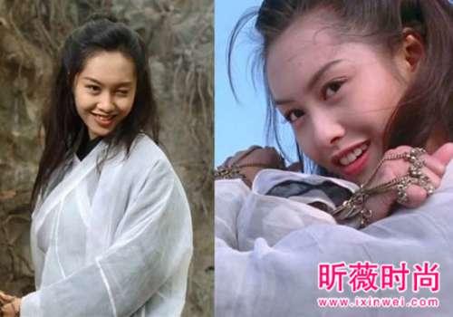 43岁朱茵再扮紫霞仙子:20年后造型重现美艳如昔