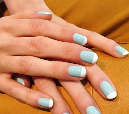 2017最新春天美甲图片:小清新艺术美甲让指尖充满生机