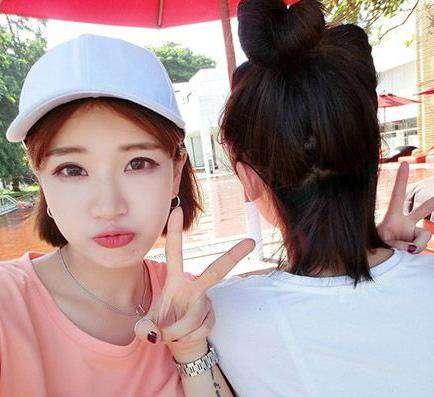 2017韩国流行发型短发:这些韩式短发甜美减龄更可爱