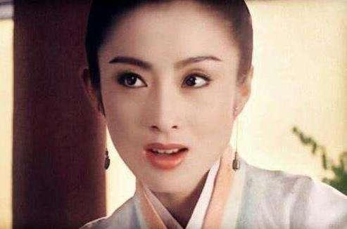 女神张敏一别20年还是那么美:张敏年轻时美艳照