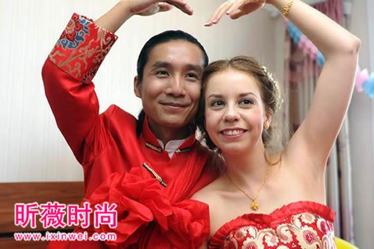 洋媳妇谈中国男人 令人面红耳赤