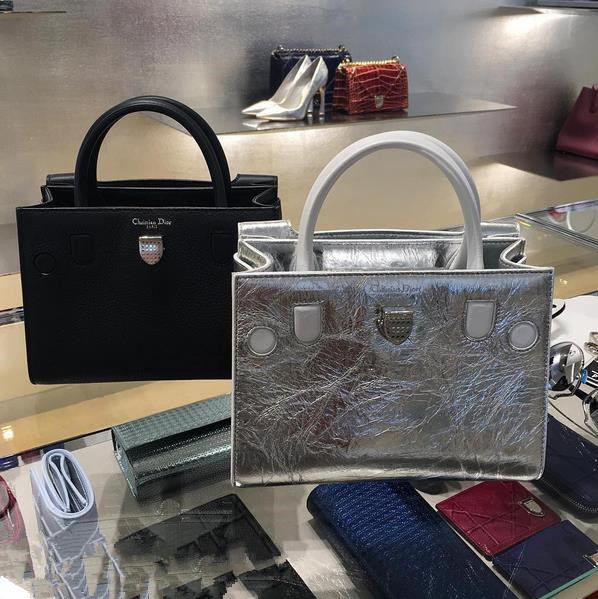 dior包包哪款最经典?dior2016银色包省钱实用