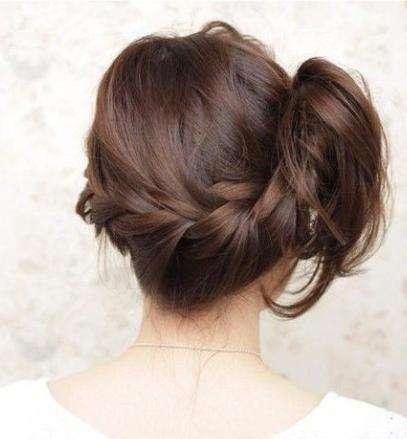 侧编发发型教程图解:简单步骤清爽更有女人魅力