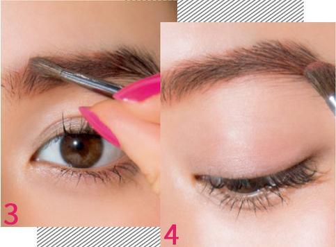眉毛也要刷腮红 清新粉嫩赤眉妆让你妙招桃花