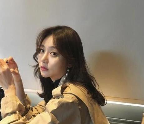 韩式微卷中长发图片
