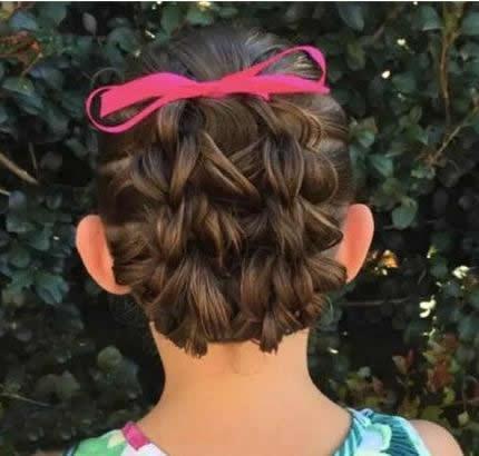 小女孩发型设计