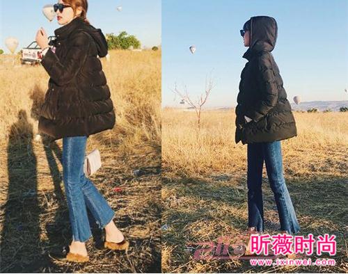 韩版BF风宽松牛仔裤 显高显瘦给你时髦感