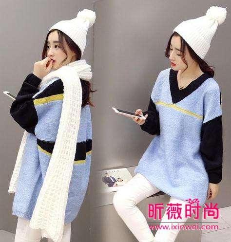 冬季御寒怎少得了针织毛衣 时尚百搭穿出气质范儿