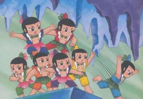 葫芦娃兄弟实力大排名:八大葫芦娃谁最强盘点