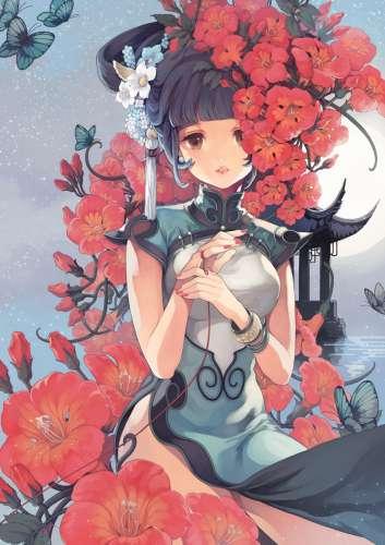 中国古典动漫美女唯美大图