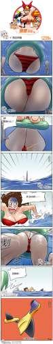 邪恶漫画图片第315刊之海边神器