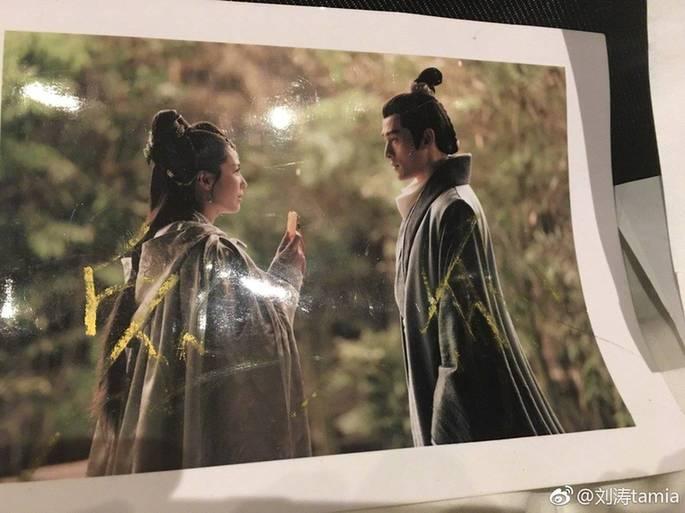 刘涛深夜翻出《琅琊榜》与胡歌签名照 感慨时光易逝