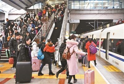 26.22万人 北京西站迎春运最高峰