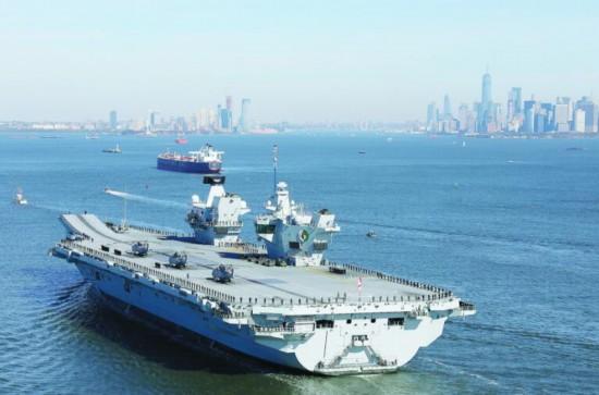 英要派女王号航母赴南海专家:既没资格又没实力