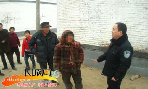 天寒人心暖!邱县民警迅速救助迷路老人回家
