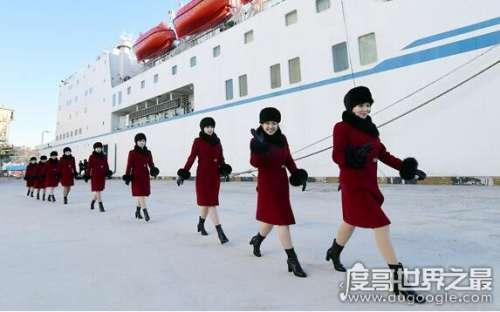 2018冬奥会朝拉拉队亮相韩国,229名美女将融化两国冰冻关系