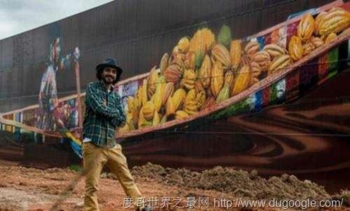 艺术家爱德华多·科布拉,创作5700多平米全球最大壁画