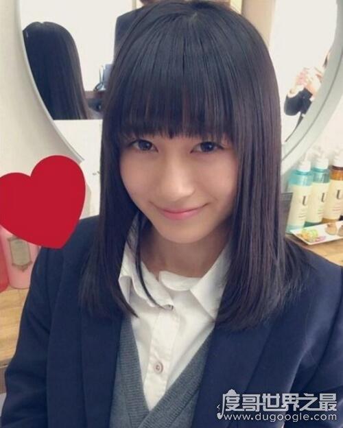 日本zuì可爱女高中生,第一的船越雪乃神似堀北真希