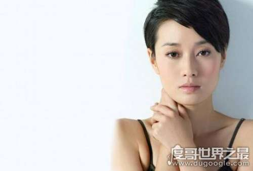 马伊俐短发图片造型,帅气干练的职场女性发型
