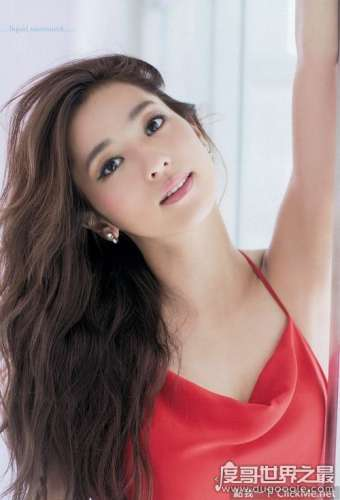 最漂亮的日本女星排行榜,北川景子获最美日本女明星称号