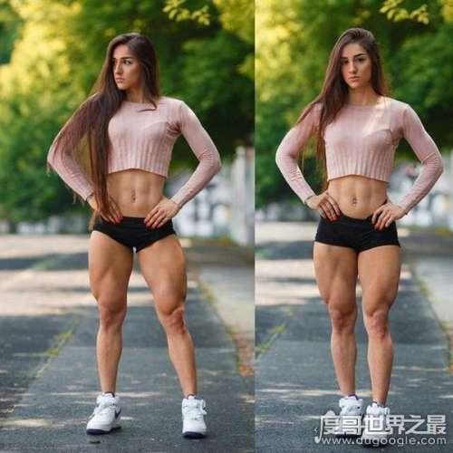 乌克兰健美美女Bakhar Nabieva