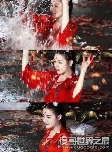 迪丽热巴洗澡图片视频,迪丽热巴性感出浴照片