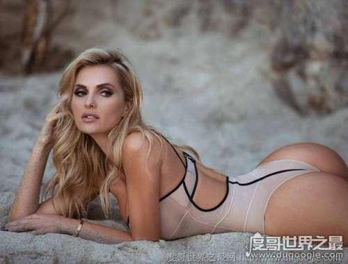 乌克兰超模Leanna Bartlett个人资料, 莉安娜身体曲线玲珑