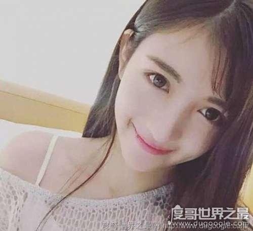 全球最美的校花,翁心颖(浙江传媒学院女神)