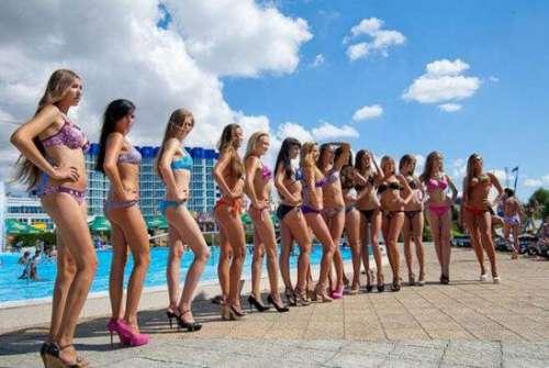 乌克兰美女泛滥成灾,满街都是肤白貌美大长腿