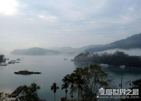 台湾日月潭的传说,简介青年情侣大尖和水社斩杀恶龙的故事