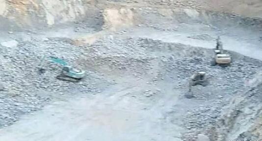邯郸武安市一矿山治理项目涉嫌非法开采