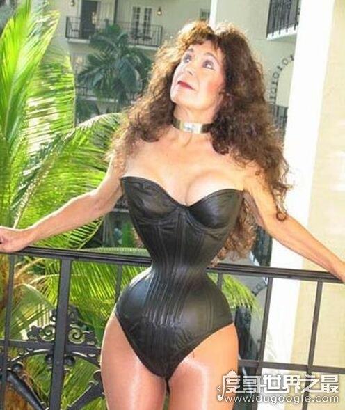 世界上腰最细的女人,卡吉詹可(仅20cm/获吉尼斯纪录认证)