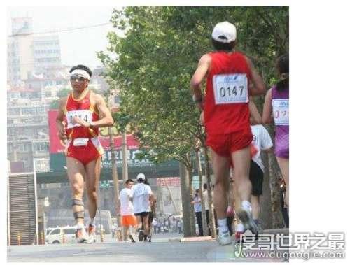 倒跑世界纪录,中国倒跑第一人许振军连续两年刷新世界纪录