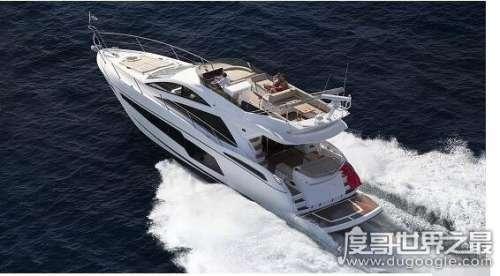 世界上最贵的摩托艇,Sunseeker Manhattan 55价格超千万