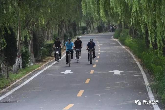 邯郸魏县:铺路造桥为大众,两委送旗表赞扬