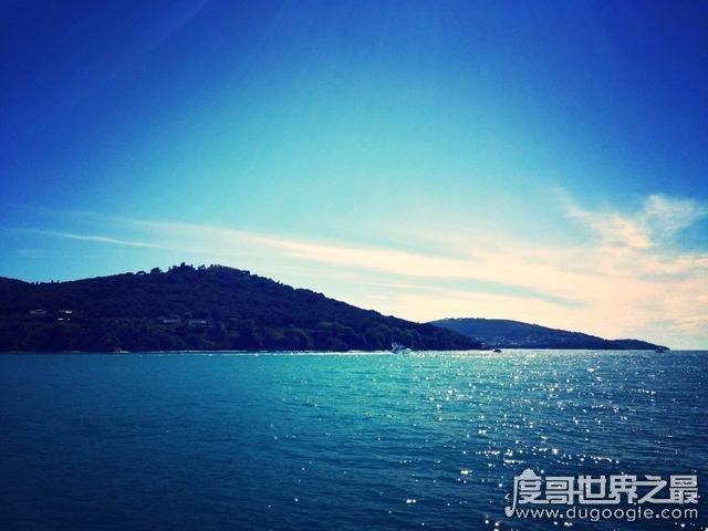 世界最小的海,马尔马拉海比北京面积还小(仅1.13万平方千米)