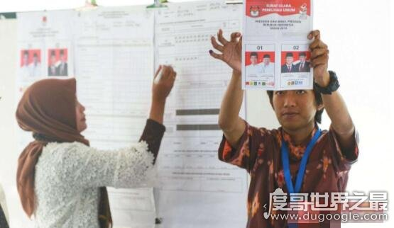 印尼大选累死272人、累病1800人,9.5亿张选票全由人工数