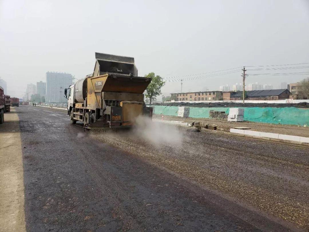 """邯郸市复兴区这条40多年的""""断头路""""通车啦!"""
