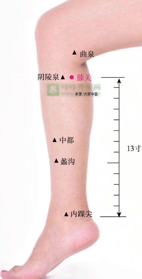膝关穴的作用与功效