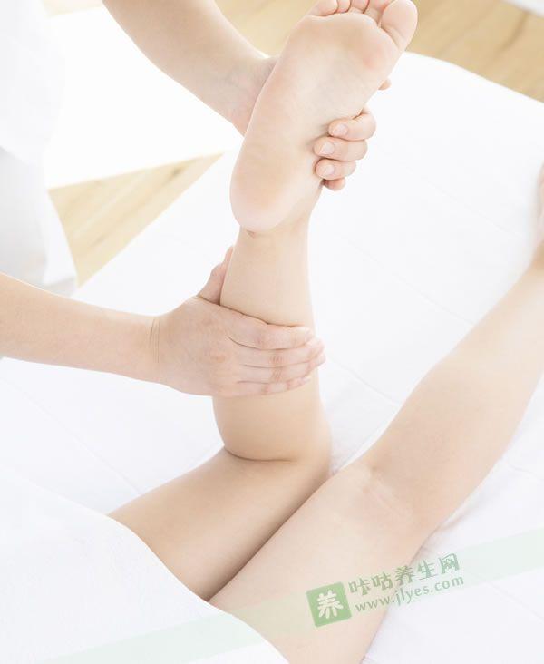 人体足部反射区高清图