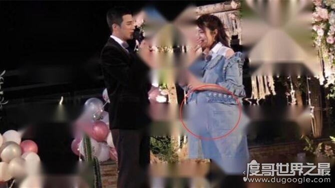 姜潮求婚麦迪娜现场曝光,女方身怀六甲现身感动落泪(超幸福)