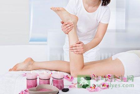 足部保健图