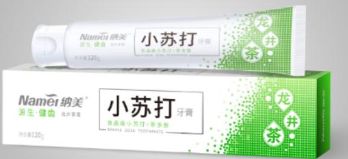 清新绿茶牙膏品牌