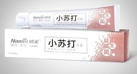 纳美牙膏多效护理