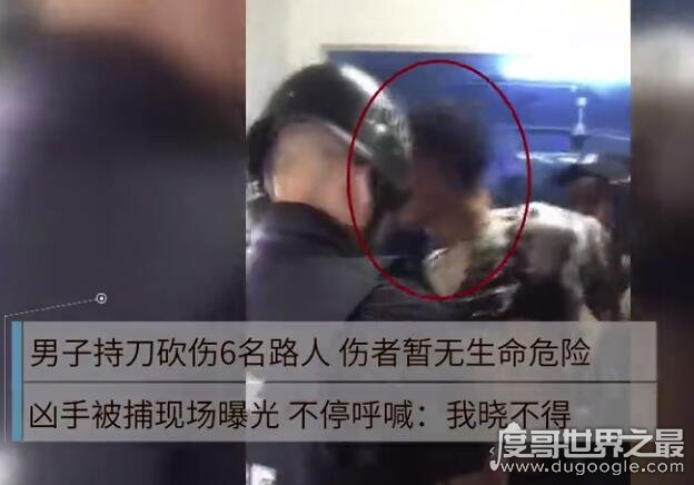 """四川岳池男子砍伤6人,被抓后大喊""""我不晓得""""(疑似精神异常)"""